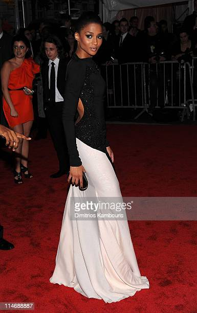 Singer Ciara attends 'The Model as Muse Embodying Fashion' Costume Institute Gala at The Metropolitan Museum of Art on May 4 2009 in New York City