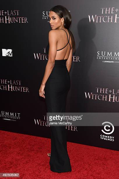 Singer Ciara attends the New York premiere of The Last Witch Hunter at AMC Loews Lincoln Square on October 13 2015 in New York City