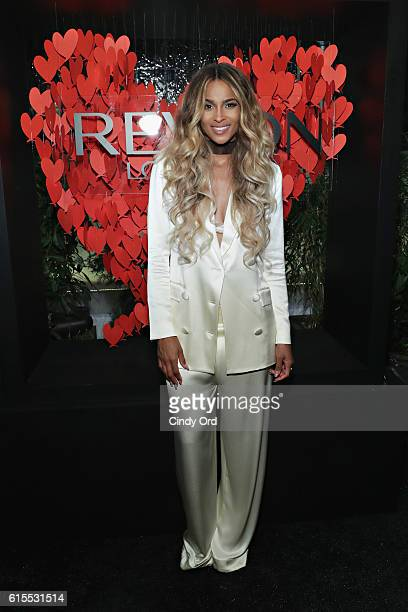 Singer Ciara attends the Revlon x Ciara launch event at Refinery Hotel on October 18 2016 in New York City