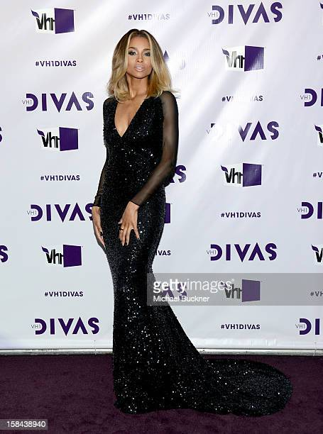 Singer Ciara attends VH1 Divas 2012 at The Shrine Auditorium on December 16 2012 in Los Angeles California