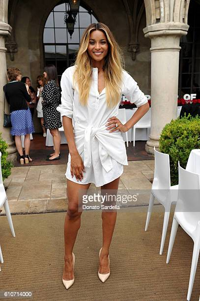 Singer Ciara celebrates groundbreaking achievements in cancer research at Revlon's Annual Philanthropic Luncheon at the Chateau Marmont on September...