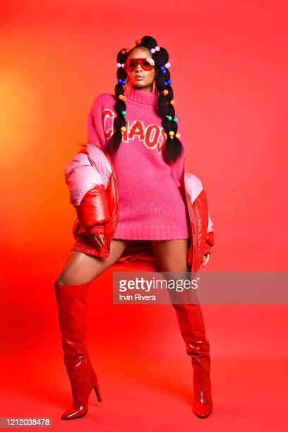 Singer Ciara is photographed for Flaunt Magazine on December 19 2019 in Los Angeles California PUBLISHED IMAGE