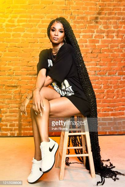 Singer Ciara is photographed for Flaunt Magazine on December 19, 2019 in Los Angeles, California.