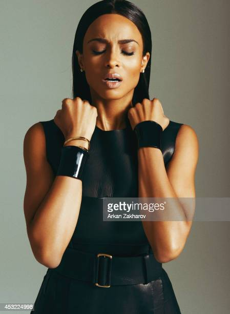 Singer Ciara is photographed on July 1 2013 for Pulp Magazine in New York City PUBLISHED IMAGE