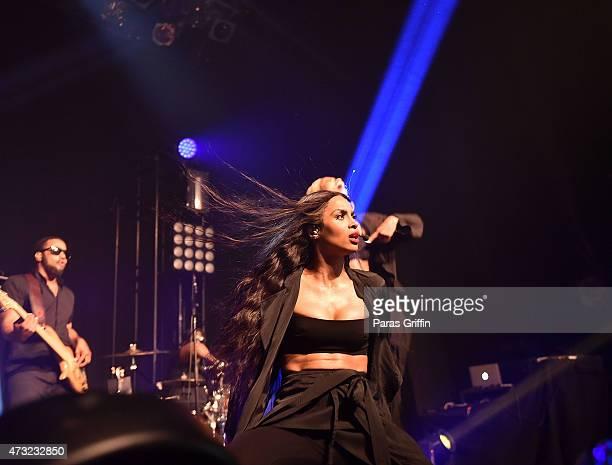 Singer Ciara performs at Center Stage on May 13, 2015 in Atlanta, Georgia.