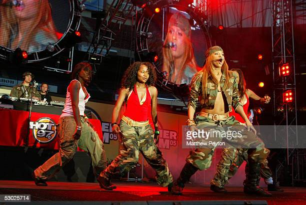 Singer Ciara performs at the Hot 97 Summer Jam 2005 Concert June 5 2005 at Giant Stadium in East Rutherford New Jersey