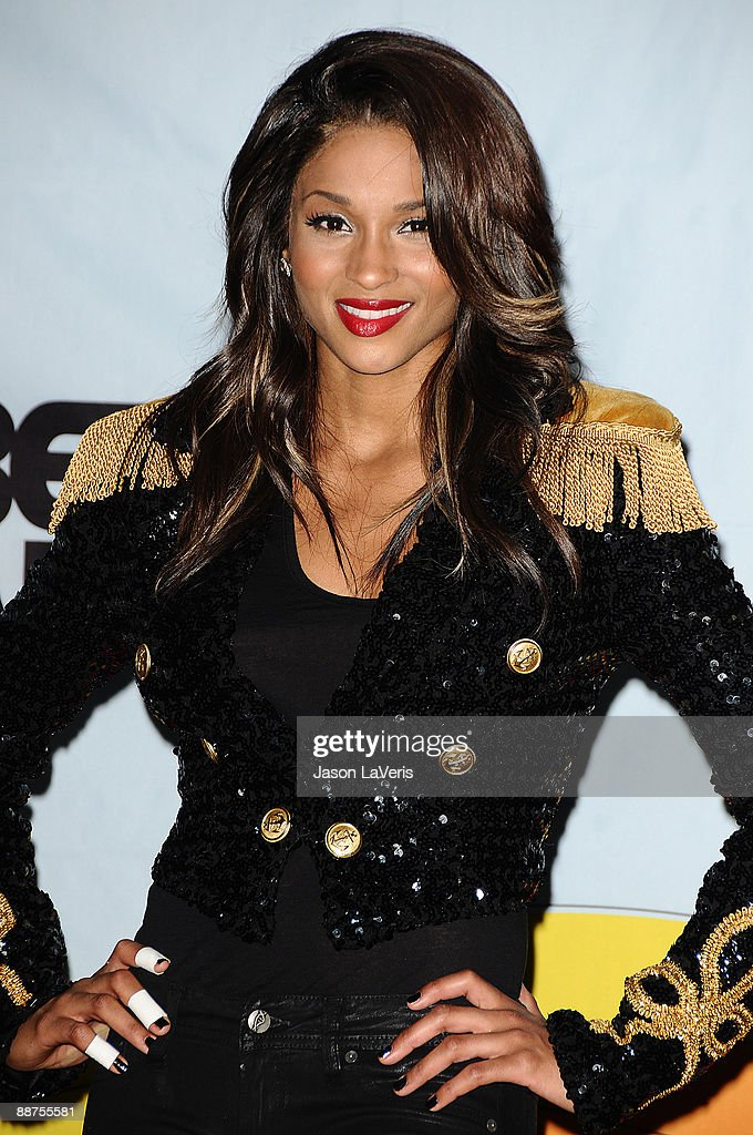 Singer Ciara poses for photos in the press room at the 2009 BET Awards at The Shrine Auditorium on June 28, 2009 in Los Angeles, California.