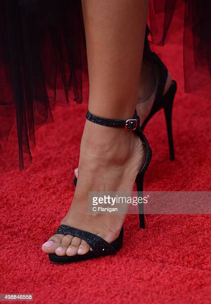 Singer Ciara Shoe Detail arrives at the 2015 American Music Awards at Microsoft Theater on November 22 2015 in Los Angeles California