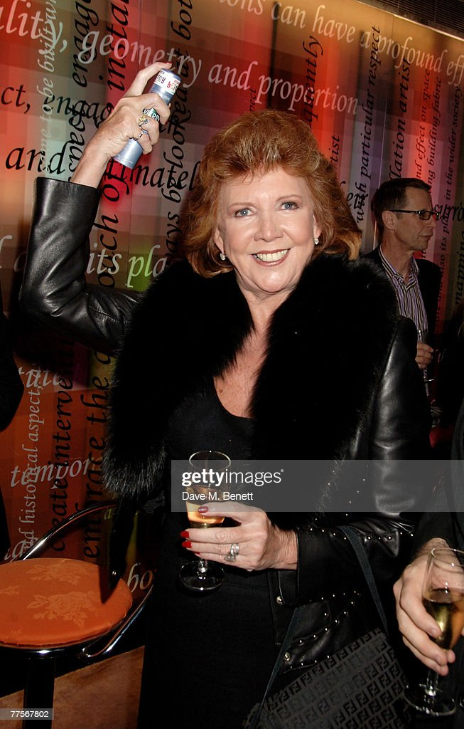 Singer Cilla Black attends the after party following the press night of 'Hairspray' at the Bloomsbury Ballroom October 30, 2007 in London, England.