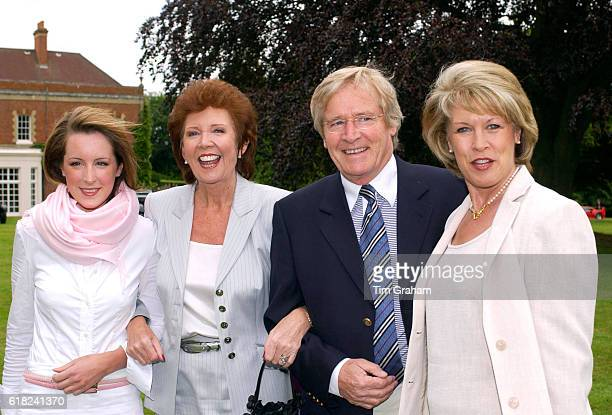 Singer Cilla Black with actor Bill Roache his wife and his daughter Verity who is studying History of Art at St Andrews University in Scotland They...