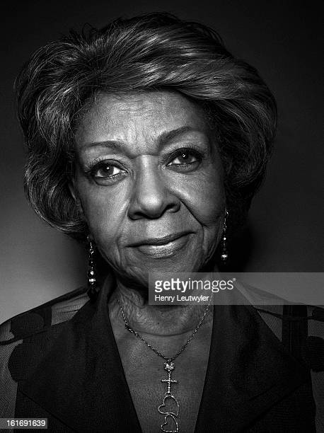 Singer Cissy Houston is photographed at home for People Magazine on January 19 in New Jersey