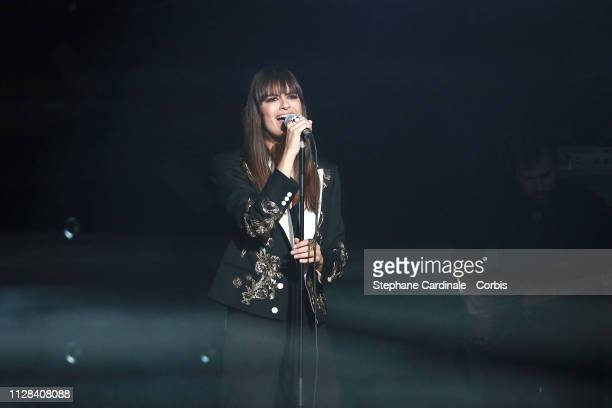 Singer Clara Luciani attends the 34th 'Les Victoires De La Musique' Show at La Seine Musicale on February 08 2019 in BoulogneBillancourt France