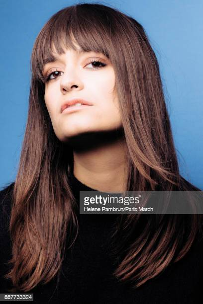 Singer Clara Luciani is photographed for Paris Match on November 13 2017 in Paris France