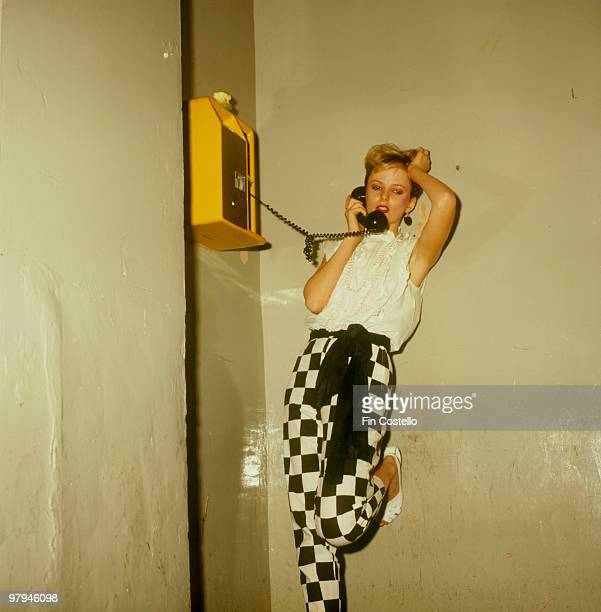 Singer Clare Grogan of Scottish band Altered Images in 1981