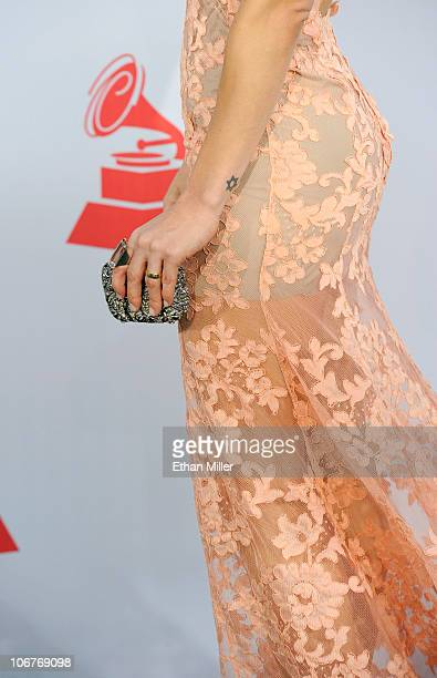 Singer Claudia Leitte arrives at the 11th annual Latin GRAMMY Awards at the Mandalay Bay Resort Casino on November 11 2010 in Las Vegas Nevada