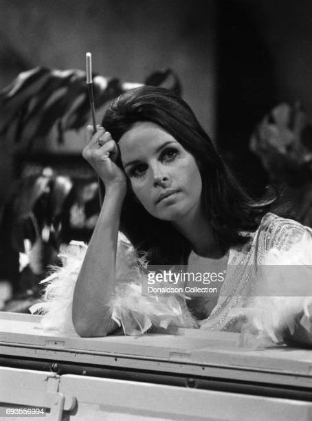 Singer Claudine Longet performs on This Is Tom Jones TV show in circa 1970 in Los Angeles California