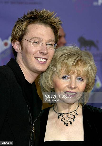 Singer Clay Aiken and his mother attend the 2003 Billboard Music Awards at the MGM Grand Garden Arena December 10 2003 in Las Vegas Nevada The 14th...