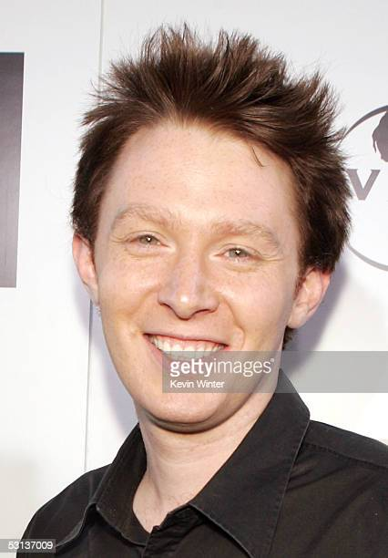 Singer Clay Aiken arrives at the premiere of the Broadway musical Wicked hosted by Universal Pictures at the Pantages Theater on June 22 2005 in Los...