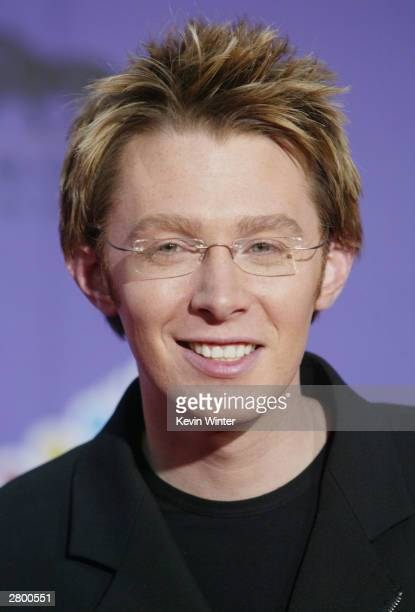 Singer Clay Aiken attends the 2003 Billboard Music Awards at the MGM Grand Garden Arena December 10, 2003 in Las Vegas, Nevada. The 14th annual...