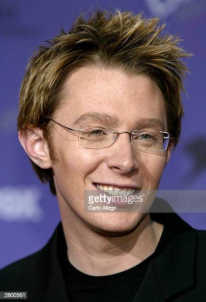 Singer Clay Aiken attends the 2003 Billboard Music Awards at the MGM Grand Garden Arena December 10 2003 in Las Vegas Nevada The 14th annual ceremony...