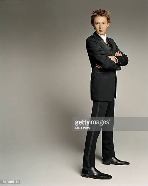 Singer Clay Aiken is photographed for Rolling Stone Magazine in 2003 in Los Angeles California