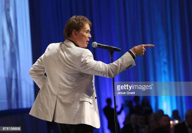 Singer Cliff Richard performs during the Dream Foundation's 2017 Dreamland Gala at The RitzCarlton Bacara on November 18 2017 in Goleta California