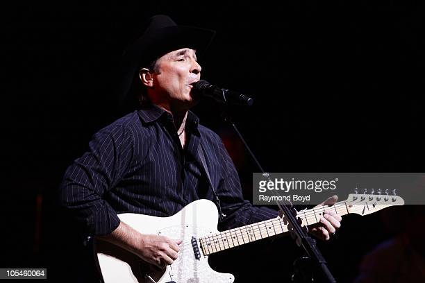 Singer Clint Black performs during the Chicago Country Music Festival at the Pritzker Pavilion in Millennium Park in Chicago Illinois on OCT 08 2010