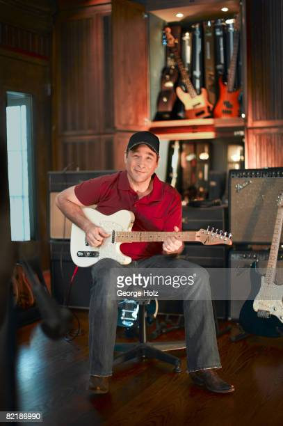 Singer Clint Black poses for a portrait session for People Magazine on May 1 2008 in his home studio in Nashville Tennessee PUBLISHED IMAGE