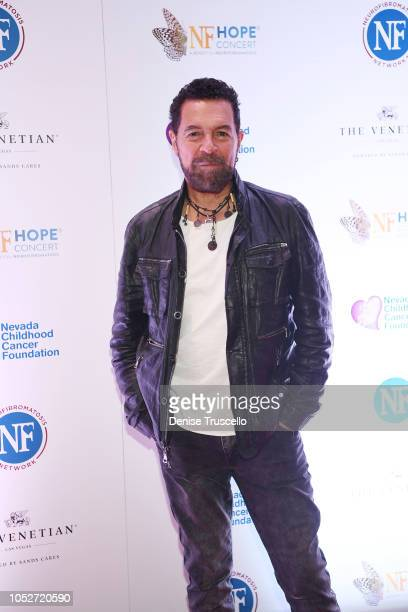 Singer Clint Holmes arrives at Las Vegas's 8th annual NF Hope Concert A Benefit for Neurofibromatosis at the Palazzo Theatre at The Palazzo Las Vegas...