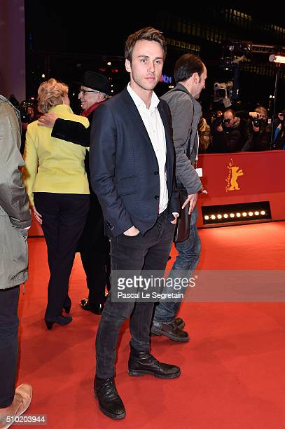 Singer Clueso attends the '24 Wochen' premiere during the 66th Berlinale International Film Festival Berlin at Berlinale Palace on February 14 2016...