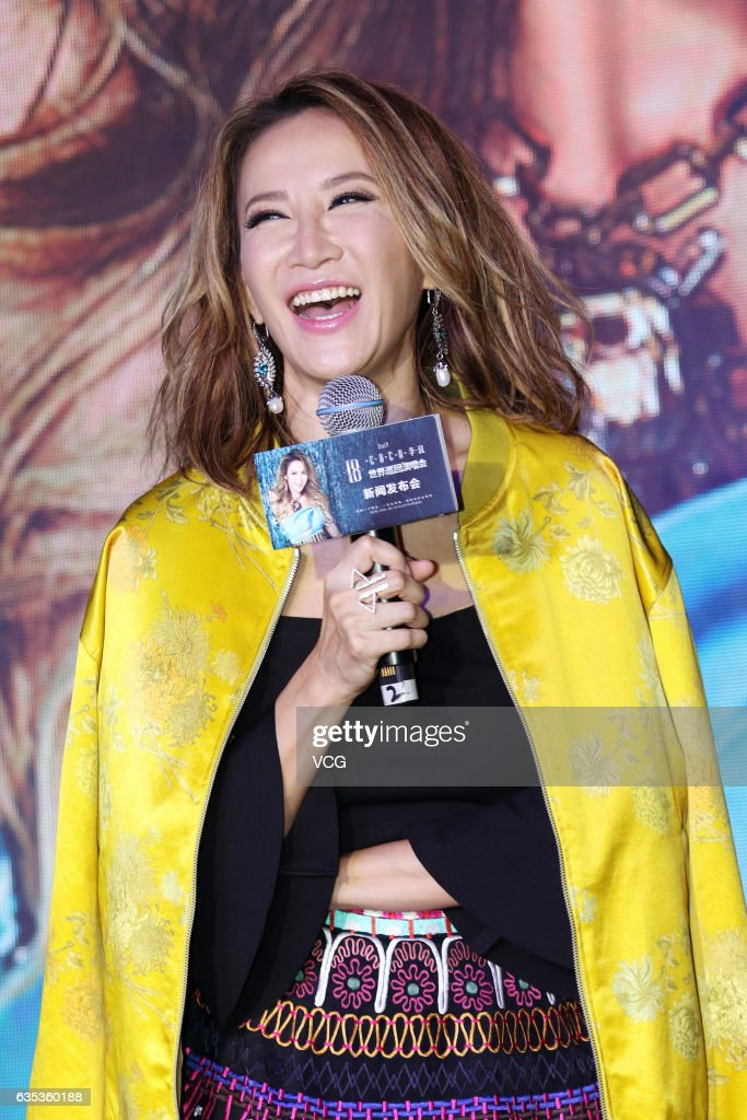 Coco Lee Holds Press Conference Of Concert In Shanghai