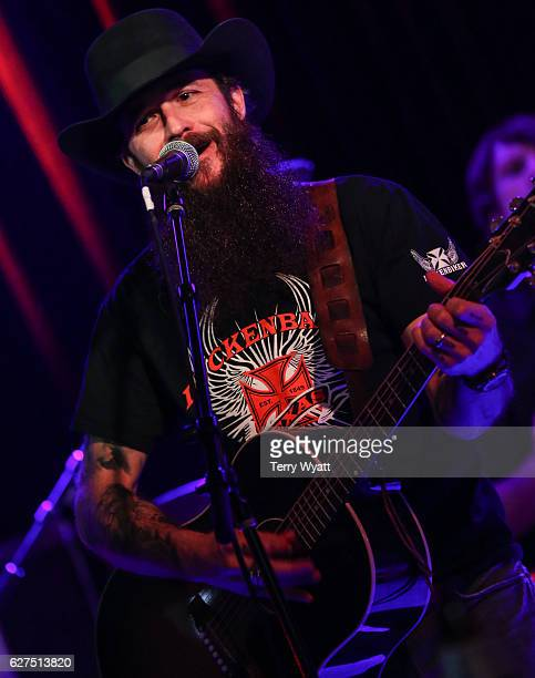 Singer Cody Jinks performs at 3rd and Lindsley on December 3 2016 in Nashville Tennessee