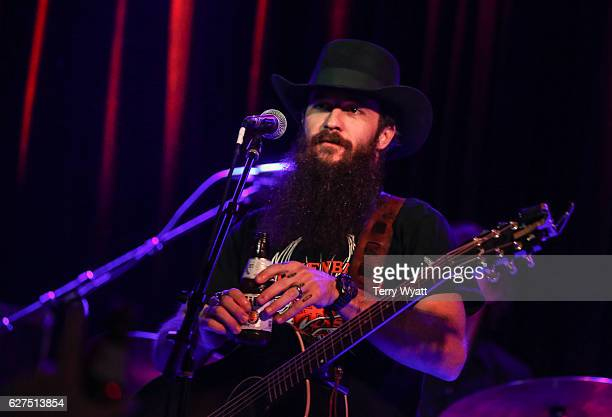 Singer Cody Jinks performs at 3rd and Lindsley on December 3, 2016 in Nashville, Tennessee.