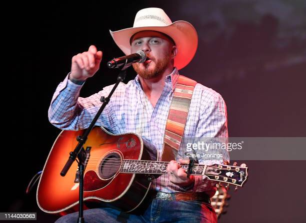 Singer Cody Johnson performs at Live In The Vineyard 2019 on May 14 2019 in Napa California