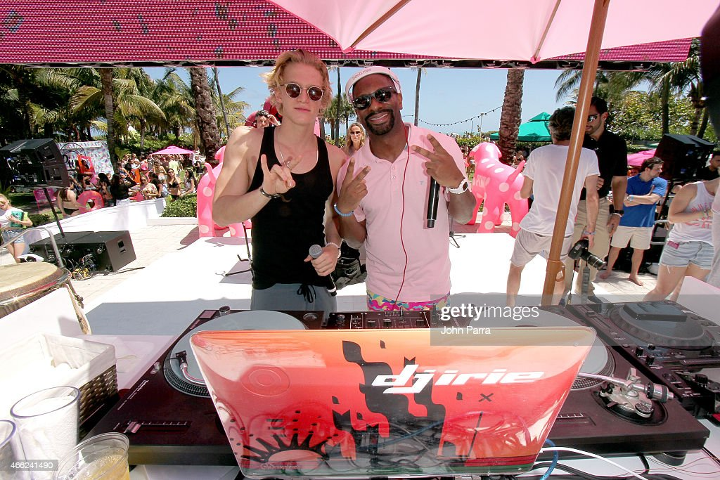 Singer Cody Simpson And DJ Irie Attend The Ultimate Spring Break Bash Hosted By Victorias Secret