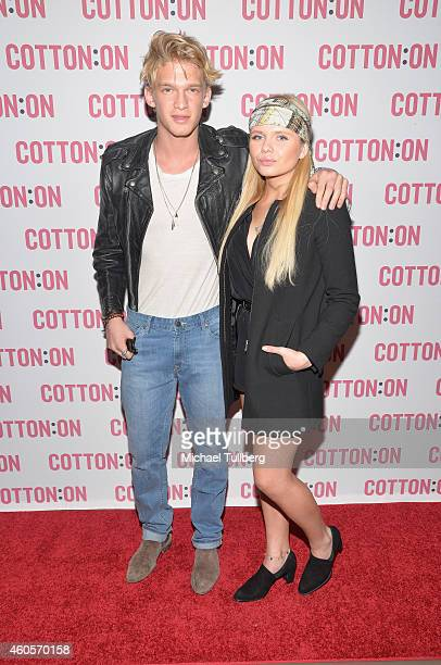 Music fashion meet charity stock photos and pictures getty images singer cody simpson and sister alli simpson attend a meet and greet with fans as part m4hsunfo