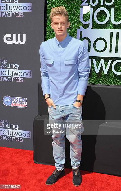 Singer Cody Simpson arrives at the 15th Annual Young Hollywood Awards at The Broad Stage on August 1 2013 in Santa Monica California