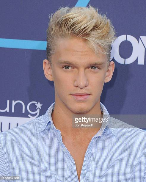 Singer Cody Simpson arrives at the 16th Annual Young Hollywood Awards at The Wiltern on July 27 2014 in Los Angeles California