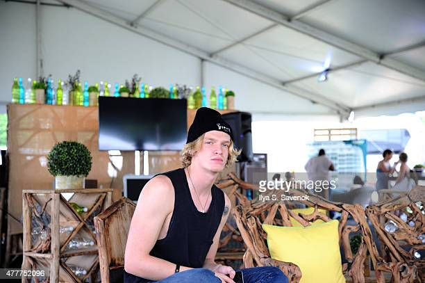Singer Cody Simpson attends day 2 of the Firefly Music Festival on June 19 2015 in Dover Delaware