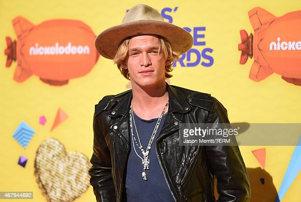Singer Cody Simpson attends Nickelodeon's 28th Annual Kids' Choice Awards held at The Forum on March 28 2015 in Inglewood California