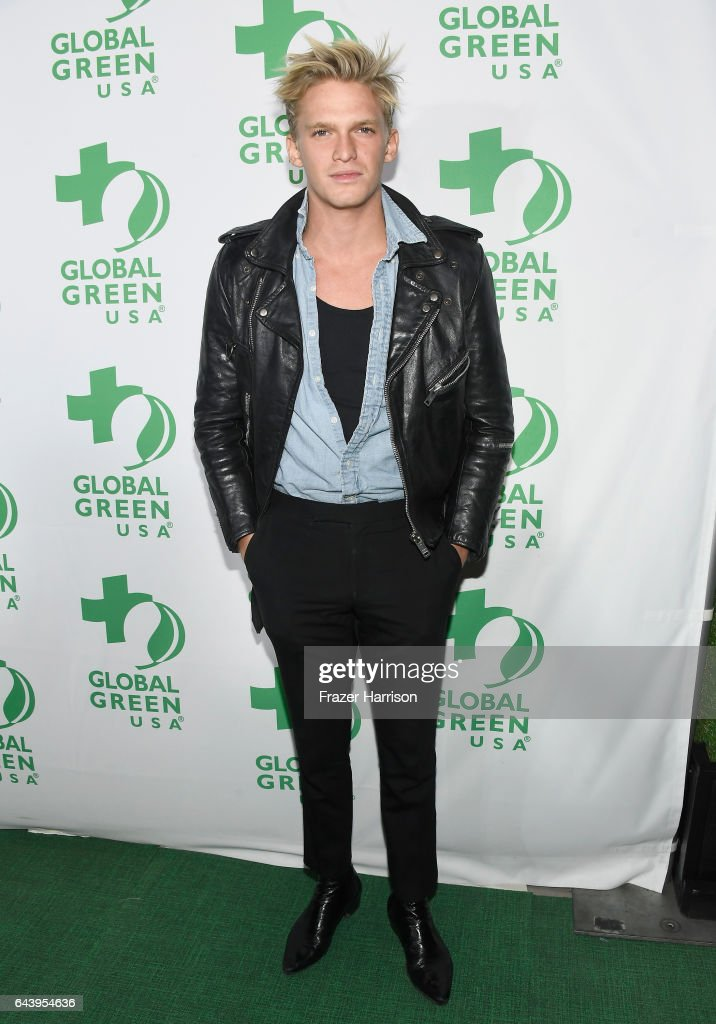Singer Cody Simpson attends the 14th Annual Global Green Pre Oscar Party at TAO Hollywood on February 22, 2017 in Los Angeles, California.