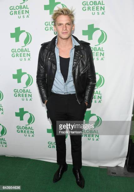 Singer Cody Simpson attends the 14th Annual Global Green Pre Oscar Party at TAO Hollywood on February 22 2017 in Los Angeles California