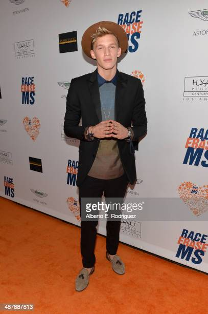 Singer Cody Simpson attends the 21st annual Race to Erase MS at the Hyatt Regency Century Plaza on May 2 2014 in Century City California