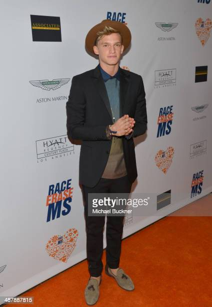 Singer Cody Simpson attends the 21st annual Race to Erase MS at the Hyatt Regency Century Plaza on May 2, 2014 in Century City, California.