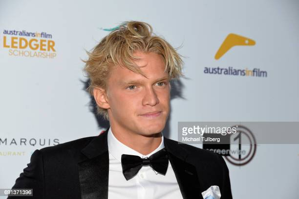 Singer Cody Simpson attends the 9th Annual Australians In Film Heath Ledger Scholarship Dinner at Sunset Marquis Hotel on June 1 2017 in West...