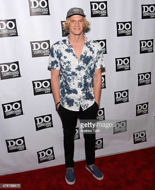 Singer Cody Simpson attends the Dosomethingorg Spring Dinner at Capitale on June 11 2015 in New York City