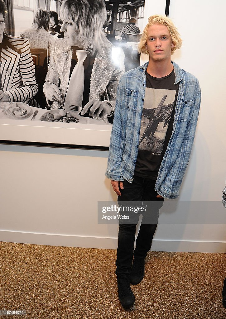 "TASCHEN Gallery Opening Reception For ""Mick Rock: Shooting For Stardust - The Rise Of David Bowie & Co."""