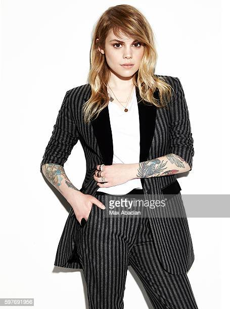 Singer Coeur de Pirate also known as Beatrice Martin is photographed for Elle Quebec on May 4 2015 in Los Angeles California Published Image