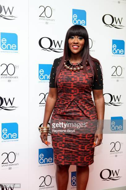 Singer Coko from the singing group SWV poses for photos during red carpet for gospel superstar Donald Lawrence's 20 Year Celebration live recording...