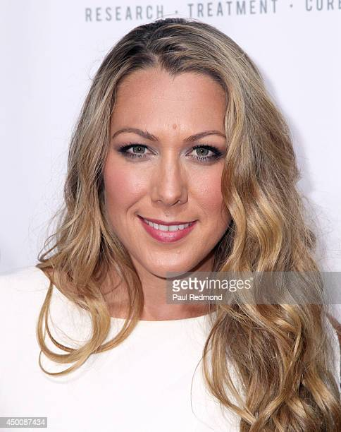 Singer Colbie Caillat arriving at Songs Of Hope X 10th Anniversary Event Benefiting City Of Hope at House of Fair on June 4, 2014 in Brentwood,...